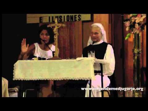 Sor Emmanuel – El rezo del rosario y la lectura diaria de los mensajes