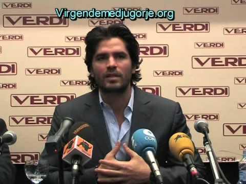 El actor Eduardo Verastegui habla de Medjugorje