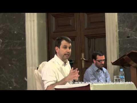 Conferencia de Jesús García en Barcelona