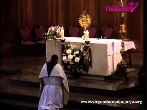 Sor Emmanuel 2014 – Adoración ante el Santísimo