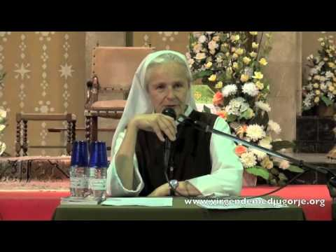 Sor Emmanuel – La Gospa nos necesita para rezar por los que no conocen el Amor del Padre Celestial