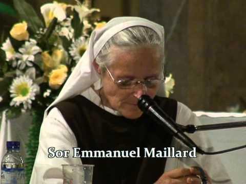 Sor Emmanuel – Durante la aparición