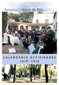 Programa actividades ACAdD 2018-2019