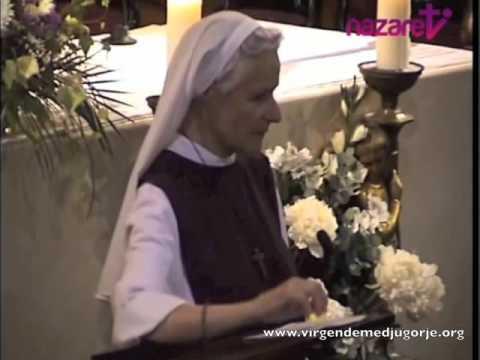 Sor Emmanuel 2014 – La fe el encuentro profundo con cristo.